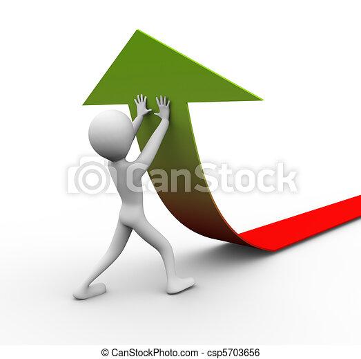 wysiłki, wzrost - csp5703656