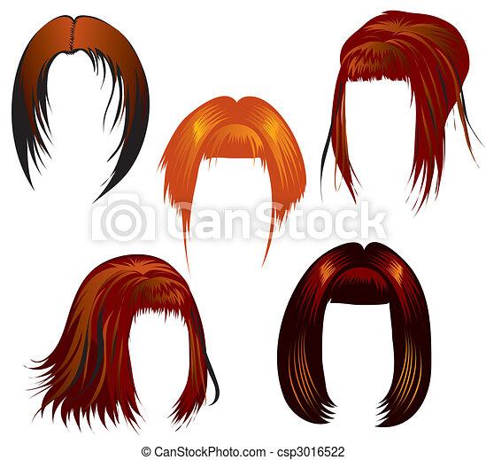 wystawiany włos, tytułowanie - csp3016522
