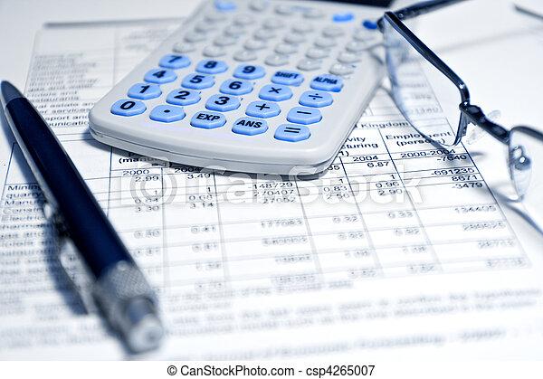 zameldować, -, pojęcie, finansowy, handlowy - csp4265007