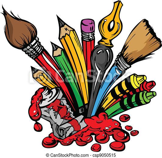 zaopatruje, wektor, sztuka, rysunek - csp9050515