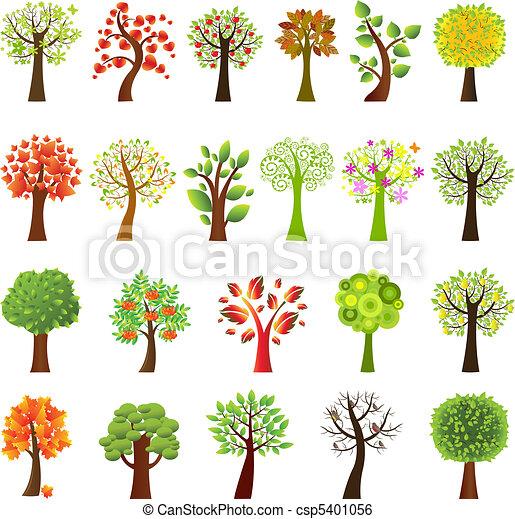 zbiór, drzewa - csp5401056