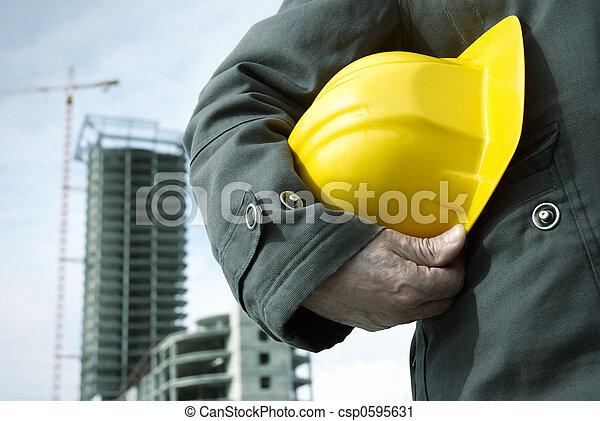 zbudowanie, pod - csp0595631