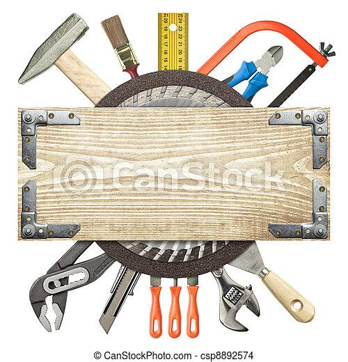 zbudowanie, tło - csp8892574