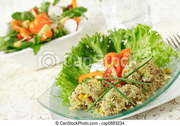 zdrowe jadło - csp0883234