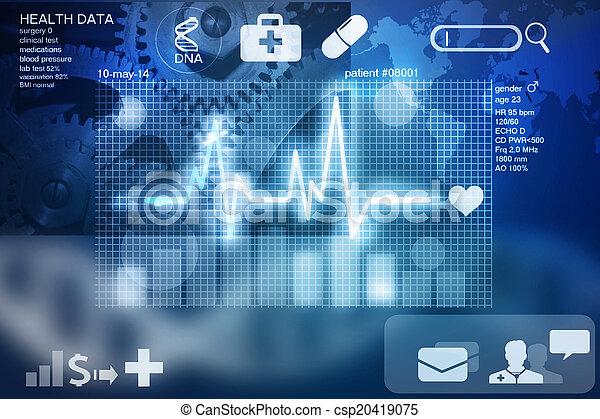 zdrowie, dane - csp20419075