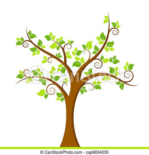 zielone drzewo - csp6634030