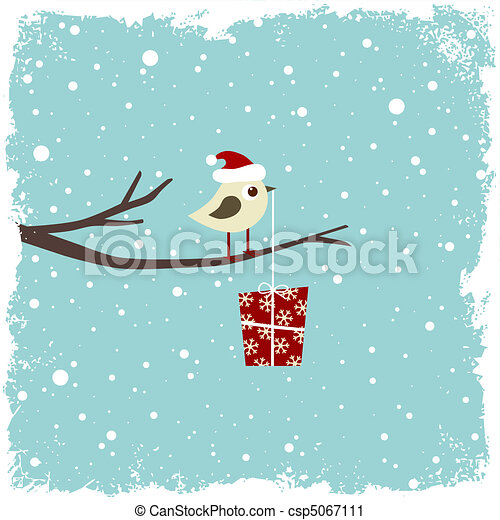 zima, karta - csp5067111