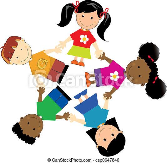 zjednoczony, dzieciaki - csp0647846