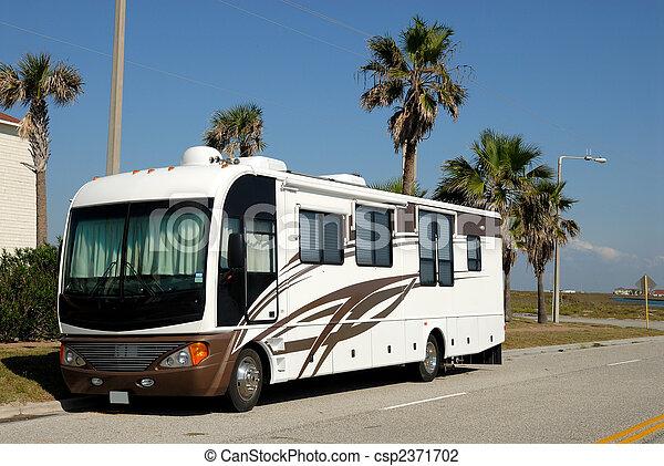 zjednoczony, rekreacyjny, południowy, stany, pojazd, texas - csp2371702