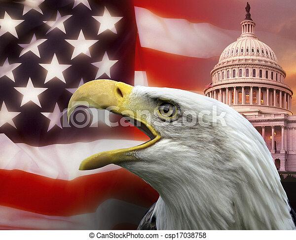 zjednoczony, waszyngton, -, dc, stany, ameryka - csp17038758