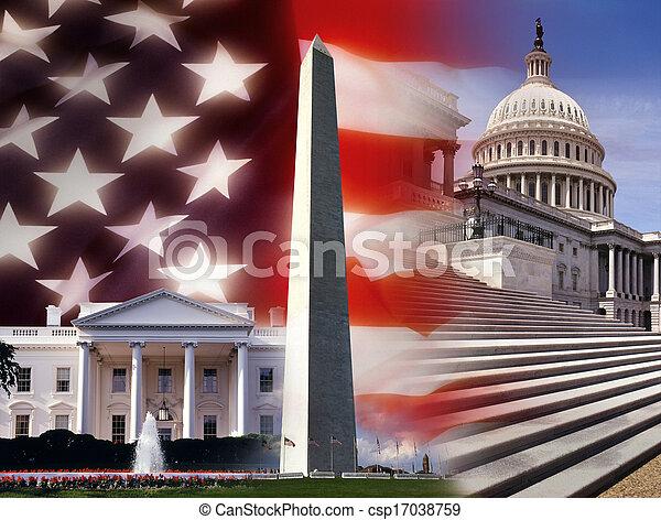zjednoczony, waszyngton, -, dc, stany, ameryka - csp17038759