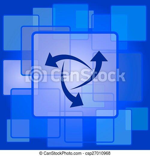 zmiana, ikona - csp27010968